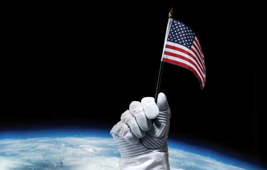 space-usa-flag